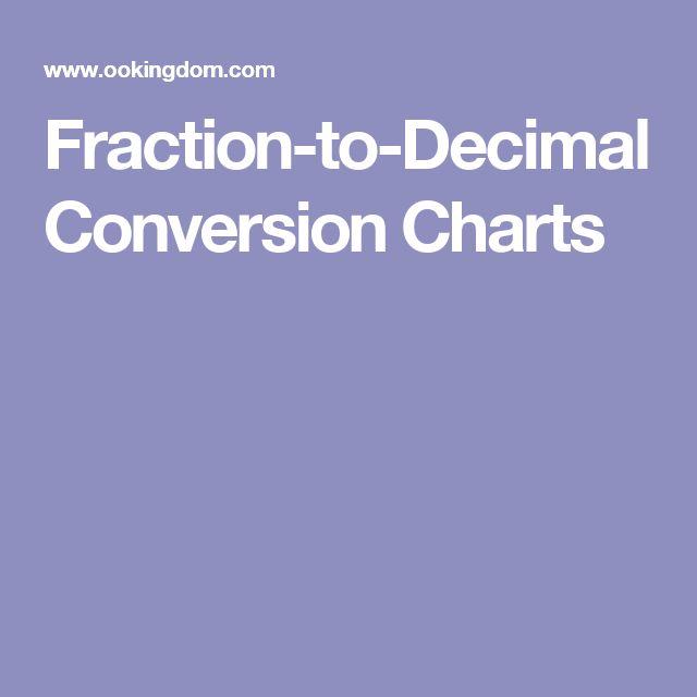 25+ ide terbaik Decimal conversion di Pinterest - decimal conversion chart
