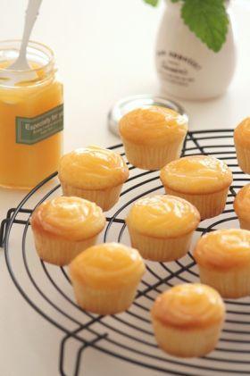 「レモンカードのプチ・カップケーキ。」ChococoHS | お菓子・パンのレシピや作り方【corecle*コレクル】