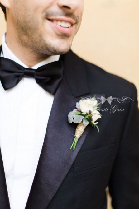 Groom's boutonniere Flowers Wedding