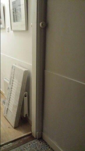 nu ook stucwerk in de hal ( we naderen de 2 jaar sinds aankoop)