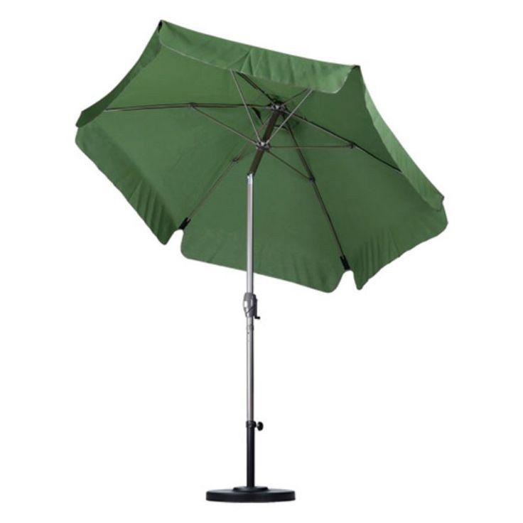 California Umbrella Quick Ship 7.5 Ft. Wind Resistant Patio Umbrella  Pacific Blue   ALUS756T