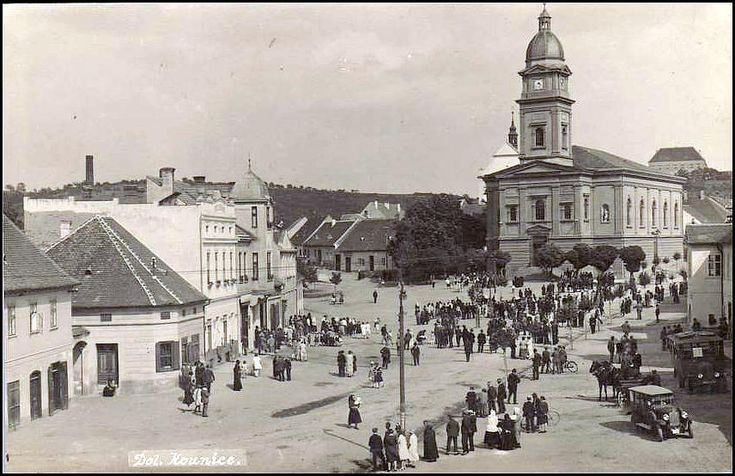 Dolní Kounice 1930