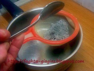 Τα φαγητά της γιαγιάς: Αλισίβα ή σταχτόνερο για φαγητά γλυκά και όχι μόνο...