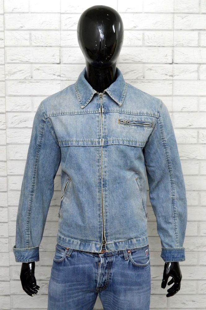 best service ee2fa 3f439 Giubbino ARMANI JEANS Giacca in Jeans Uomo Taglia 50 Jacket ...