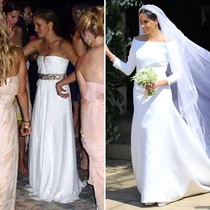 Meghan Markle Wedding Dress Back.How Meghan Markle S Royal Wedding Dress Compares To The One From Her