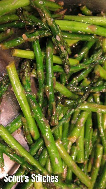 Scout's Stitches: Fresh Asparagus Recipe