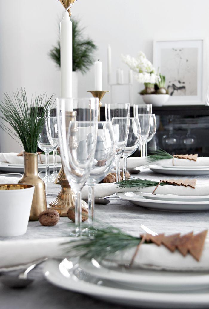 10 Christmas table setting ideas | Stylizimo Blog
