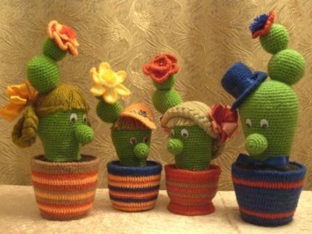 Amigurumi Cactus Tejido A Crochet Regalo Original : Best cactus images crochet cactus plants and