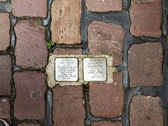 Stolperstein - Wikipedia, the free encyclopedia