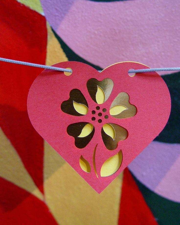 Heart garland II