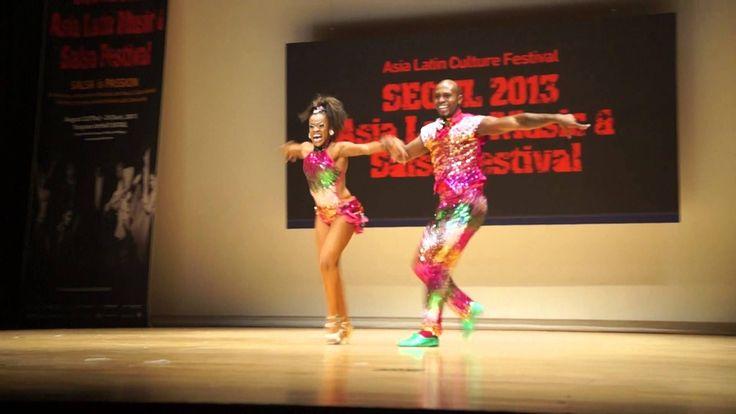Presentación  Colombia en  Seúl del Asia Latin Music & Salsa Festival 2013