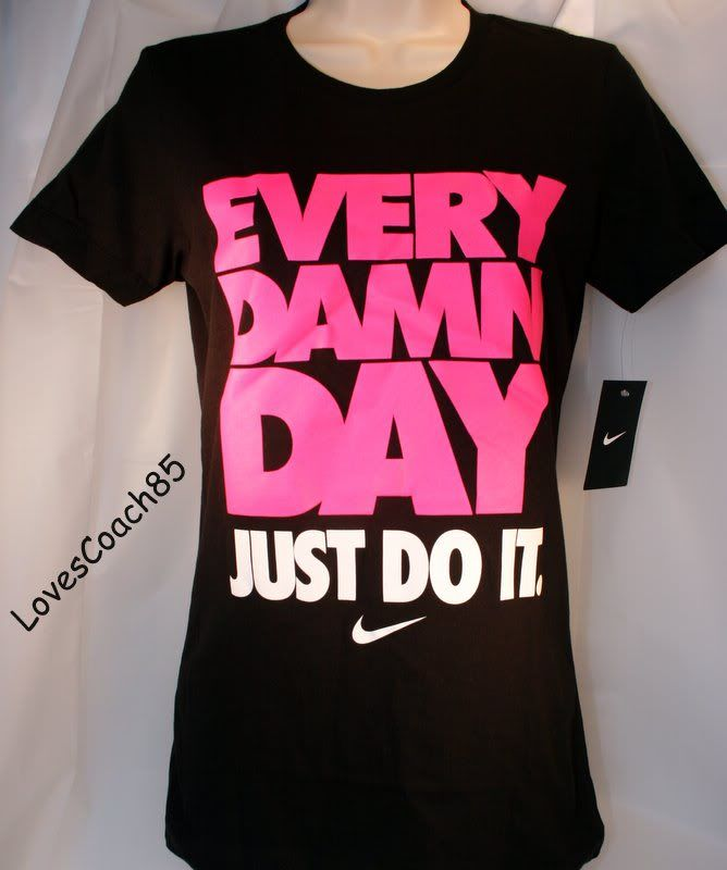Womens Nike Just Do It Shirt