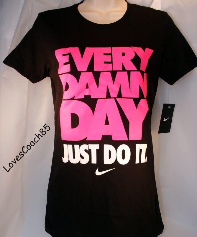 Just Do It Shirts Women | ... Of Nike