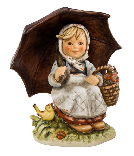 """Well Shaded"" Hummel Figurine"