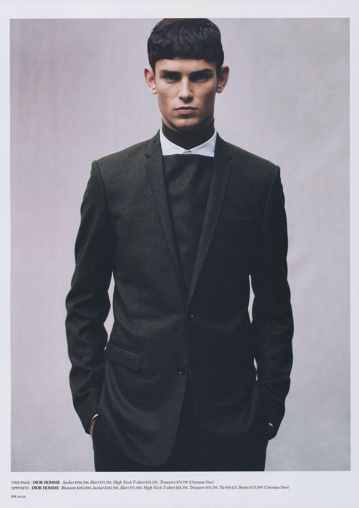 Male Model - Arthur Gosse, photographer Katsuhide Morimoto