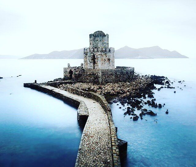Sea Fortress in Peloponnese Greece. #gorgeous #friends #smiles #beautiful #friendship #fitness #virgin #active #personaltrainer #pt #gymlife #workout #football #humbled #enjoylife #dedication #blessed #wycombewanderers #modeling #crossfit #projetocapitaoamerica #ngmvaientendernada #amrapbrasil #family #lovelovelove #vscocam #topvsco #vsco #saintpetersburg #greece