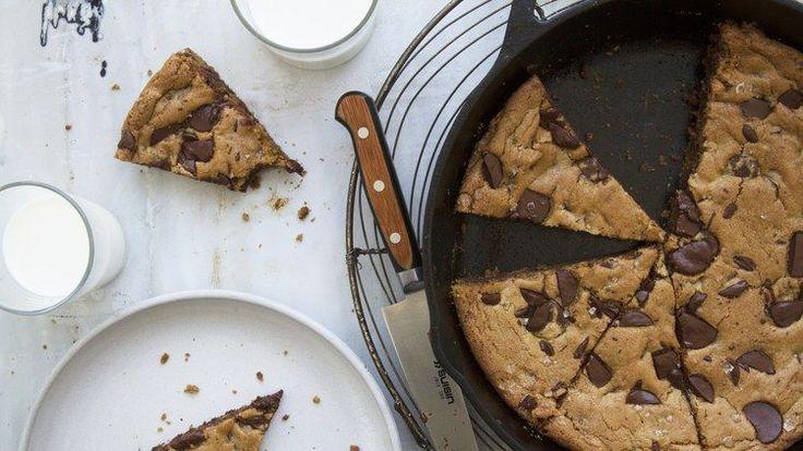 Giant Chocolate Chip Skillet Cookie Recipe | Bon Appetit