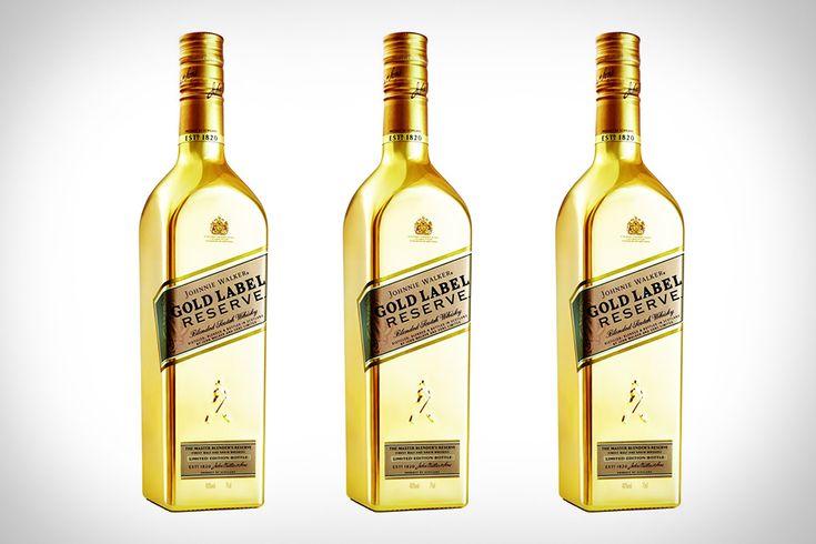 JOHNNIE WALKER GOLD RESERVE SCOTCH WHISKY. http://www.thetrenders.com/johnnie-walker-gold-reserve-scotch-whisky/