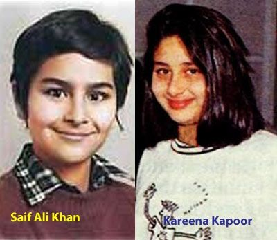 Childhood Photos of Bollywood Couples