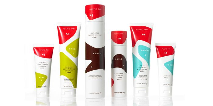 Mystic Tan | New packages for skincare brand