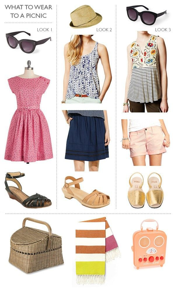 What to wear to a summer picnic!
