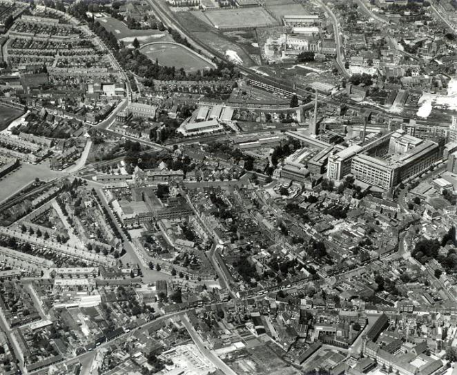 de Bergen 1950