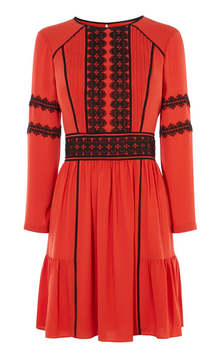 APPLIQUÉ DRESS | Luxury Women's new-in_garments | Karen Millen