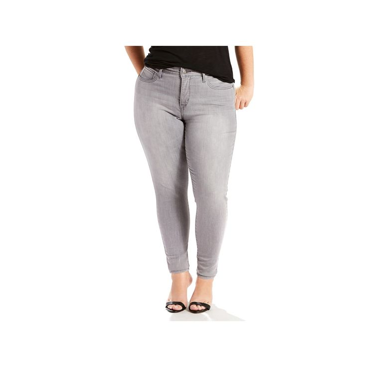 Plus Size Levi's 310 Shaping Super Skinny Jeans, Women's, Size: 16 - regular, Grey Other