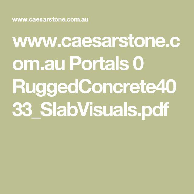 www.caesarstone.com.au Portals 0 RuggedConcrete4033_SlabVisuals.pdf