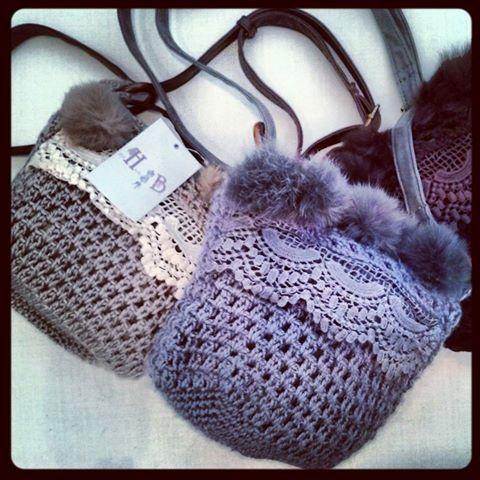 Bolsito lana con pelito  precio 12 €