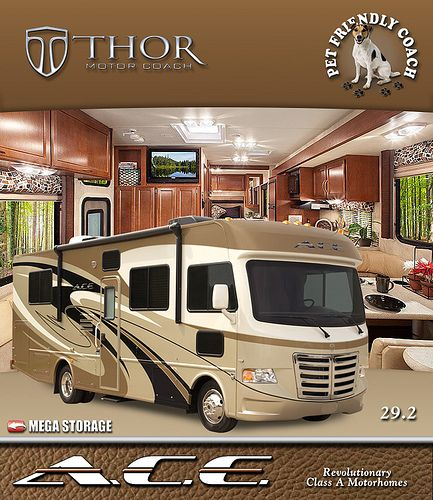 The A.C.E. RV is the Best Small Class Class A Motorhomes for sale today. It's the best of a Class C and a Class A RV all in one. Thor Motor Coach ranks at the top of the list of Class A Motorhome Manufacturers as the best selling. They also are the t Check out RV Tire Pressure Monitors