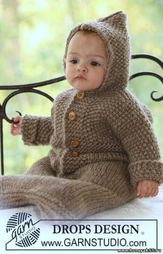Комбинезоны, боди, костюмы спицами для детей - отправлено в Вязание спицами - модели, схемы, описания: Тёплый конверт для малыша     Файл: s5141159.jpgФайл: s2581765.jpgФайл: s4334204.jpg