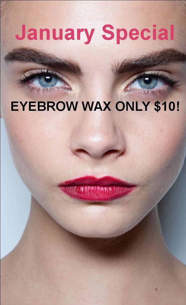 Eyebrow Wax only $10