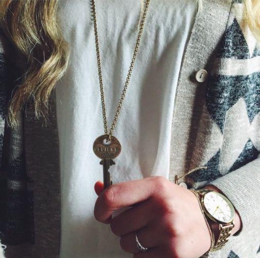 Giving Keys Necklace January 2017