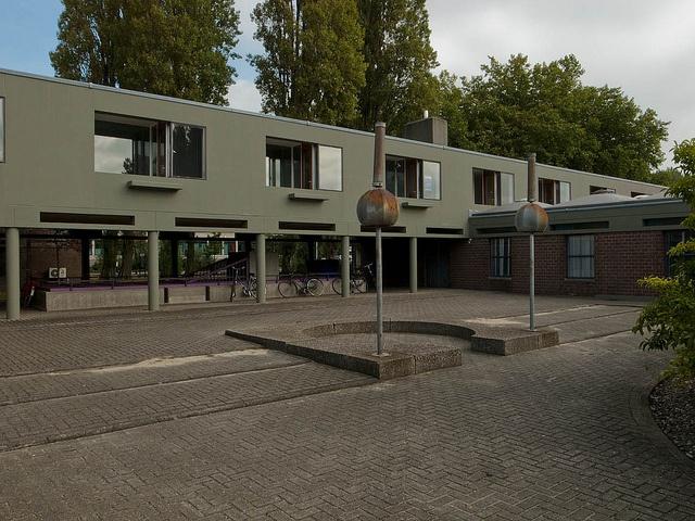 Amsterdam Orphanage / Aldo van Eyck by LeonL, via Flickr