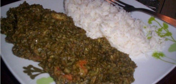 Sauce feuilles de manioc recette recette de cuisine recette recettes - Feuille de cuisine ...