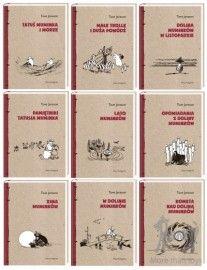Książki - komplet 9 książek o Muminkach w Zabawy z literaturą Muminki książki Pikinini-More than toys, zabawki ekologiczne, gotowanie z dziećmi, Pippi, Muminki, zabawki, ogrodnictwo, książki