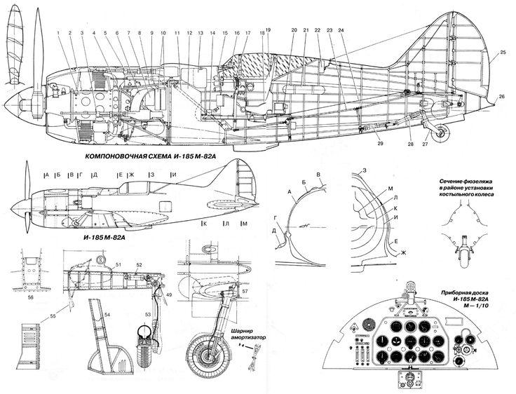 i185-3.gif (1800×1375) | Самолет, Авиация