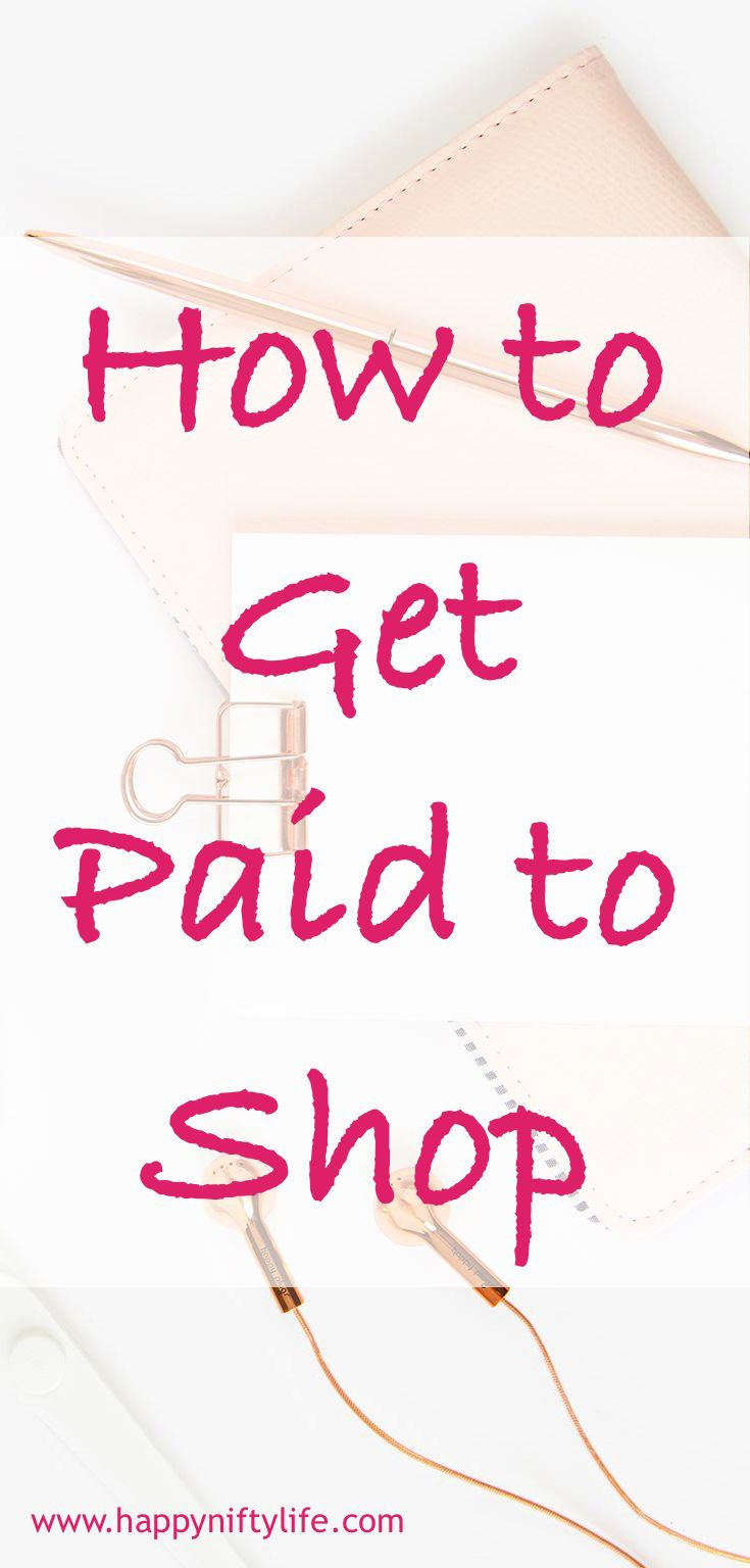 How to get paid to shop online and in store, get paid to dine out | make money online | side hustles | save money | get paid cash now