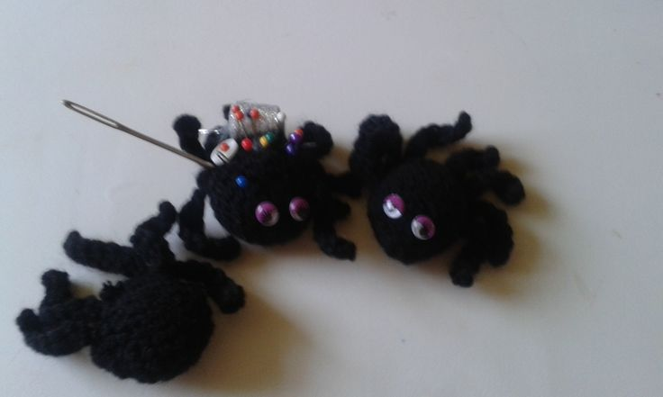 Currently busy making spiders :)