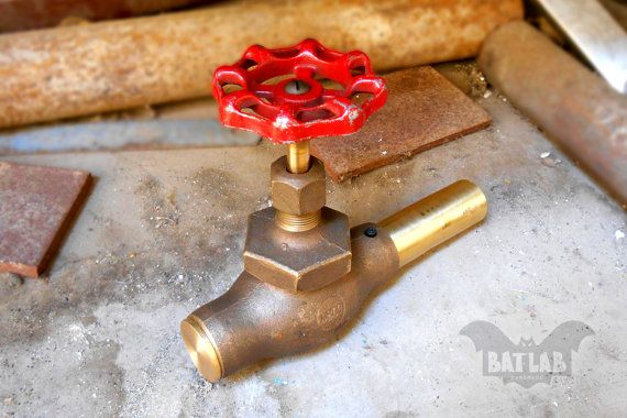 Geocache Container Water valve  Creative geocaching  by BatLab
