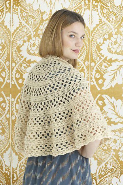 Ravelry: Lavish Lace Shawl / Emily Shawl by Lion Brand Yarn