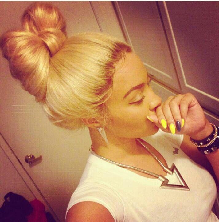 #bow #hair #blonde #hairstyles