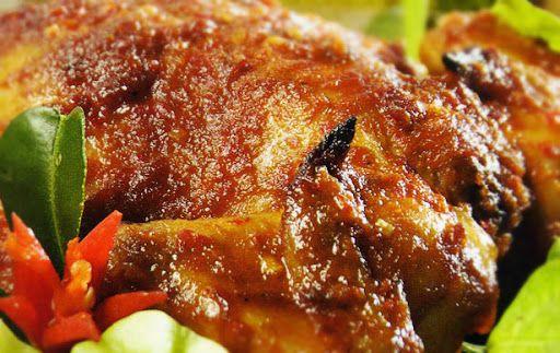 Bahan Dan Resep Ayam Panggang Spesial Bumbu Rujak Ala Restoran Resep Ayam Ayam Panggang Resep Masakan