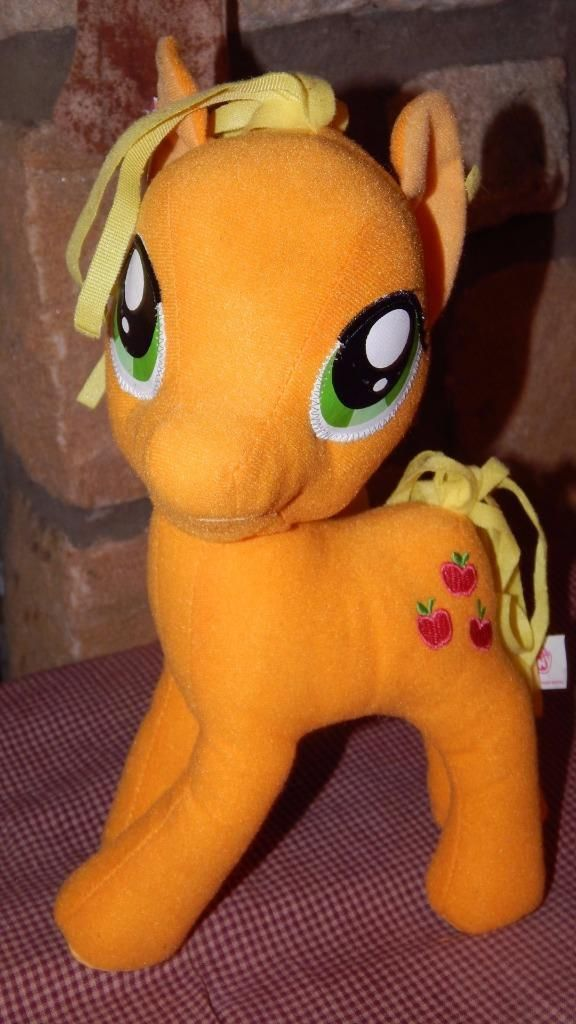 "Hasbro My Little Pony Friendship is Magic Plush AppleJack Pony 6"" W/ Tag Stuffed | eBay"