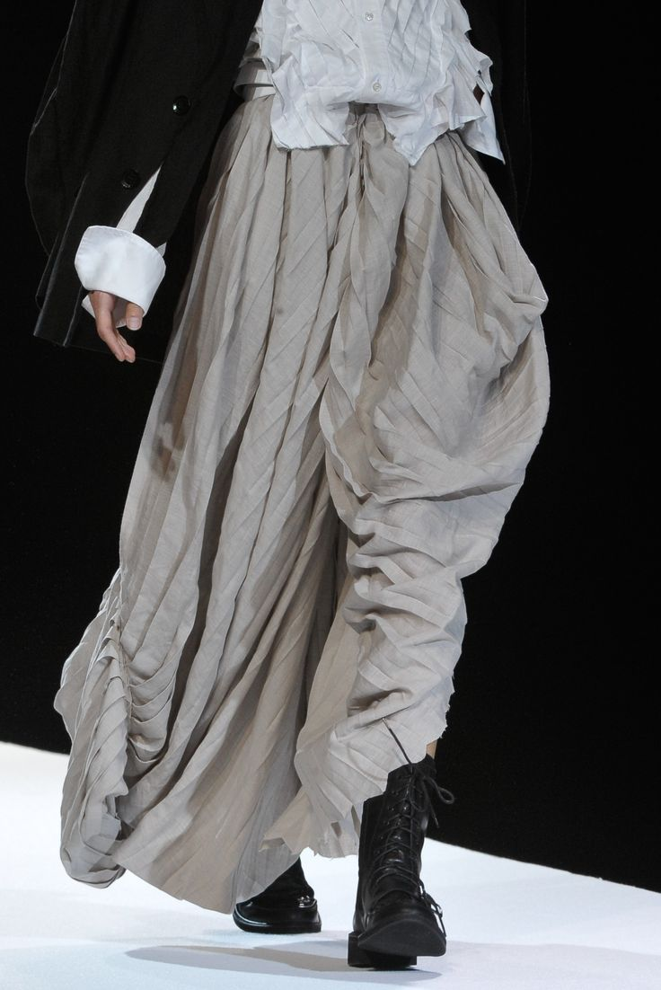 love ..: Fashion Clothing, Style, Long Skirts, Dresses, Black White, Skirts Boots, Spring 2012, Yohjiyamamoto, Yohji Yamamoto