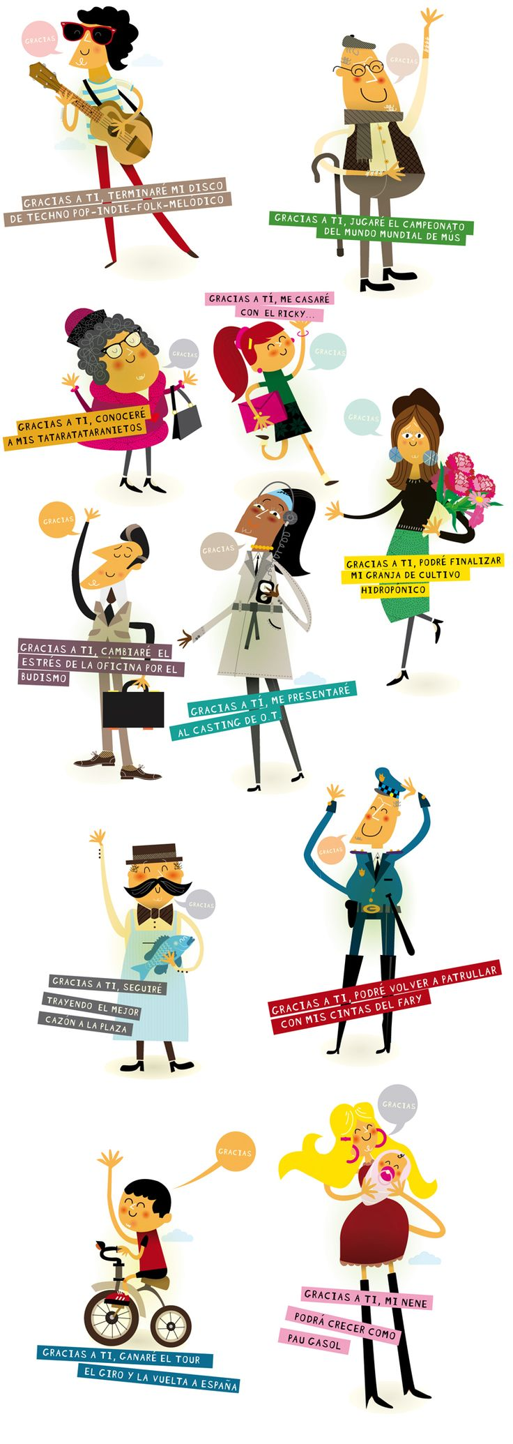 Exposición To be continued... Diseño para exposición en las calles de Sevilla para ayudar a la concienciación en la donación de órganos. En esta exposición participan 34 diseñadores de toda España y es una iniciativa de Buenavista obra social.