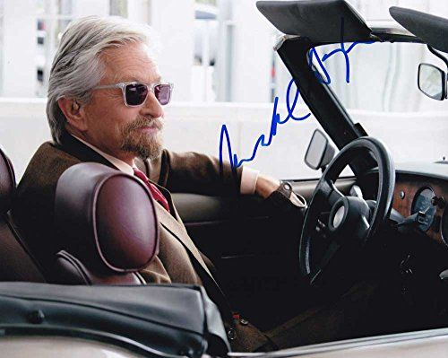 Michael Douglas in-person autographed photo Ant-Man @ niftywarehouse.com #NiftyWarehouse #Antman #Ant-man #Movie #Marvel #Comics #ComicBooks #Avengers #TheAvengers