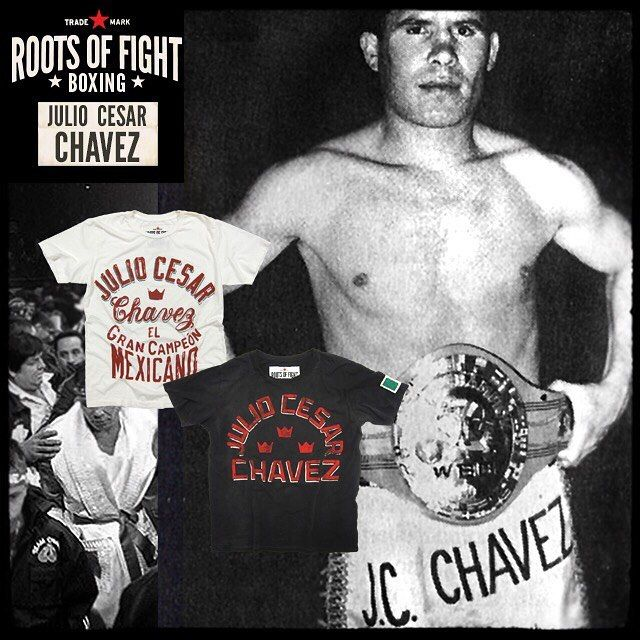 "1,646 Likes, 28 Comments - Roots Of Fight (@rootsoffight) on Instagram: ""New T's out now, paying tribute to the one and only @jcchavez115 — ""El Gran Campeon Mexicano."" The…"""