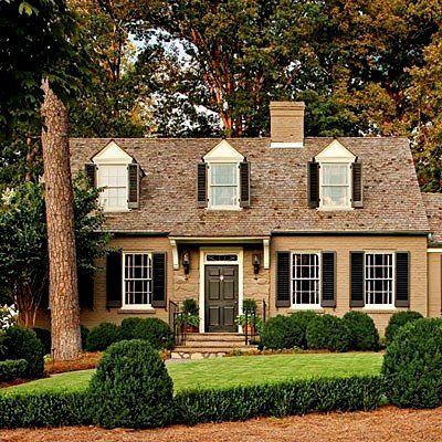 1000 ideas about brown brick exterior on pinterest brown brick. Black Bedroom Furniture Sets. Home Design Ideas
